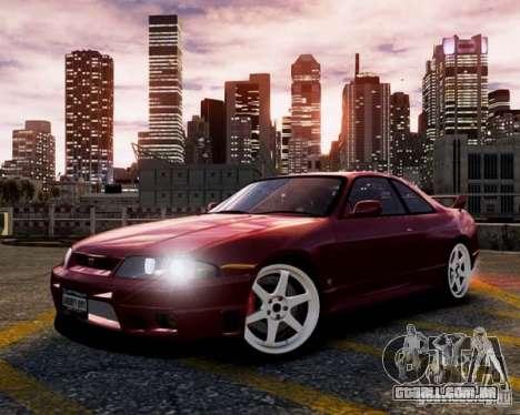 Nissan Skyline R33 GTR V-Spec para GTA 4