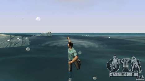 Natação para GTA Vice City segunda tela