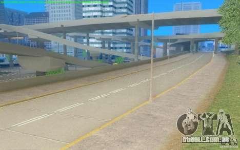 Estradas concretas de Los Santos Beta para GTA San Andreas terceira tela
