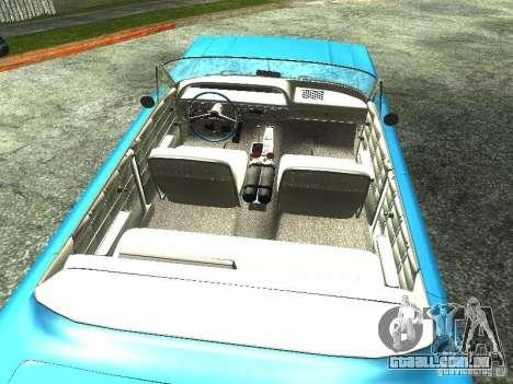 Chevrolet Impala 1964 (Lowrider) para GTA San Andreas traseira esquerda vista