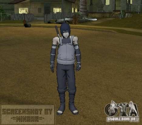 Pele Sasuke Anbu para GTA San Andreas