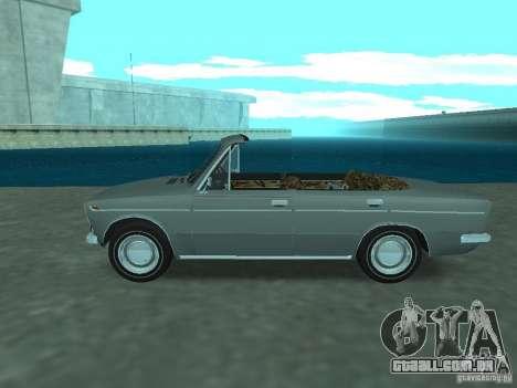 VAZ 2103 Cabrio para GTA San Andreas esquerda vista