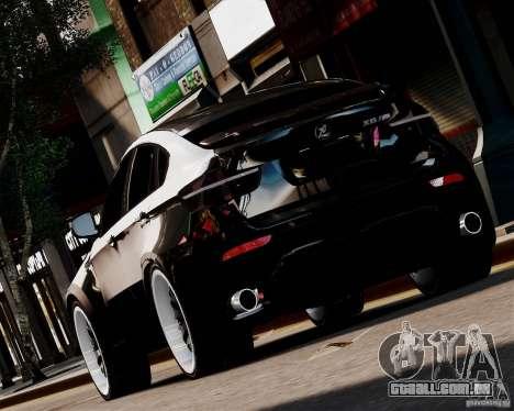 BMW X6 Tuning v1.0 para GTA 4 traseira esquerda vista