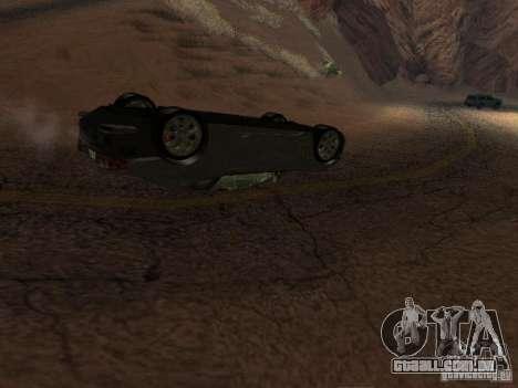 Não queimam carros tombados para GTA San Andreas terceira tela