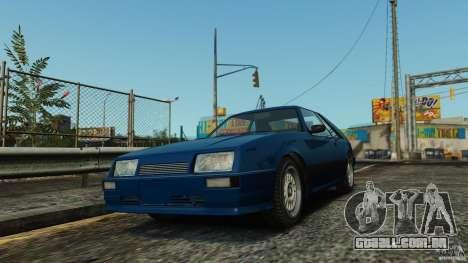 Uranus Hatchback para GTA 4 esquerda vista