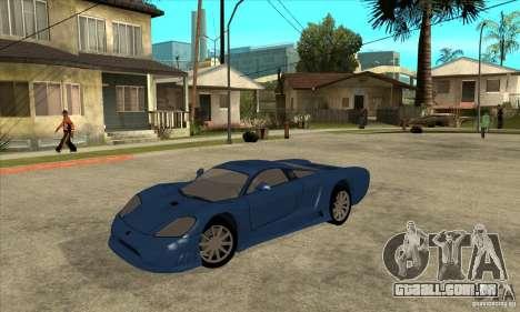 Saleen S7 v1.0 para GTA San Andreas