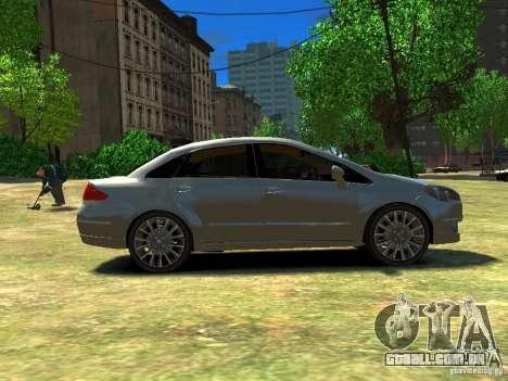 Fiat Linea para GTA 4 esquerda vista