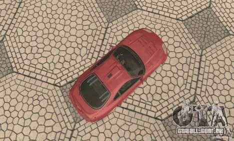 Toyota Supra Tunable 2 para GTA San Andreas vista traseira