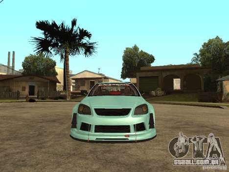 Chevrolet Cobalt SS NFS Shift Tuning para GTA San Andreas vista direita