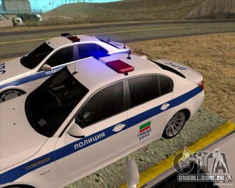 BMW M5 E60 DPS para GTA San Andreas vista direita
