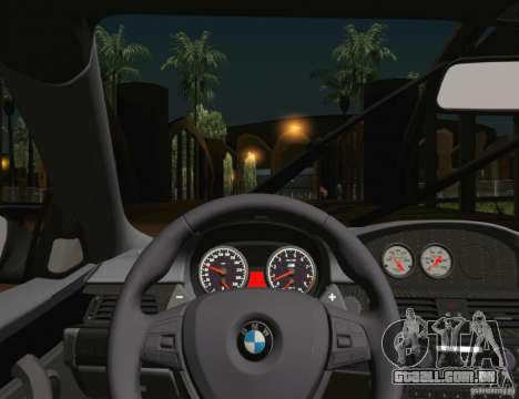 BMW M3 GT-S 2011 para GTA San Andreas vista superior