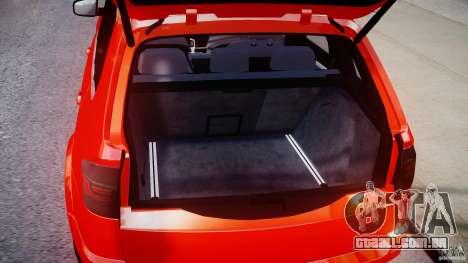BMW X5M Chrome para GTA 4 vista de volta