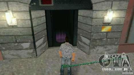 Oportunidade de introduzir os interiores para GTA Vice City segunda tela