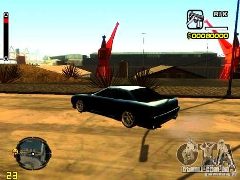 New Elegy v1 para GTA San Andreas esquerda vista