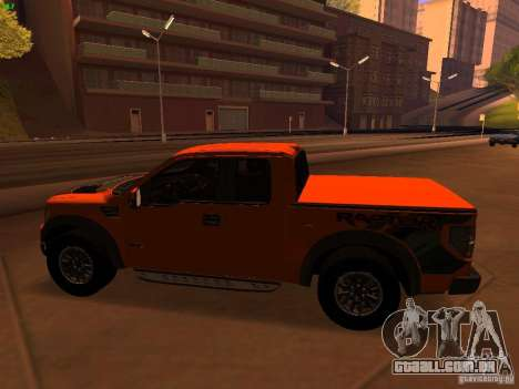 Ford F-150 SVT Raptor 2009 Final para GTA San Andreas esquerda vista
