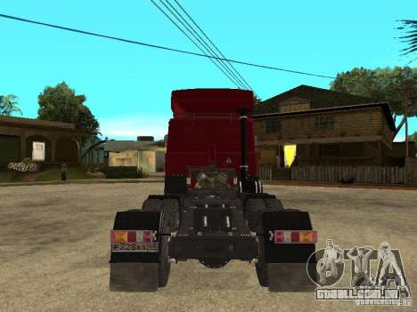 MAZ 642208 para GTA San Andreas vista direita