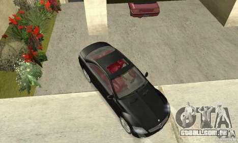 Mercedes-Benz CL500 para GTA San Andreas vista direita