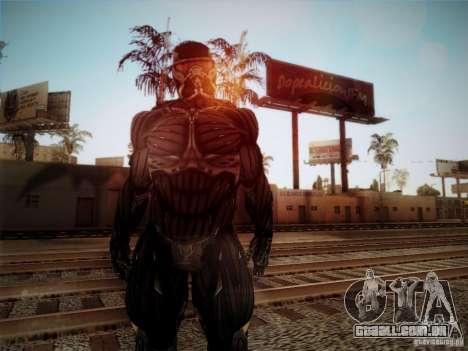 Crysis 2 Nano-Suit HD para GTA San Andreas segunda tela
