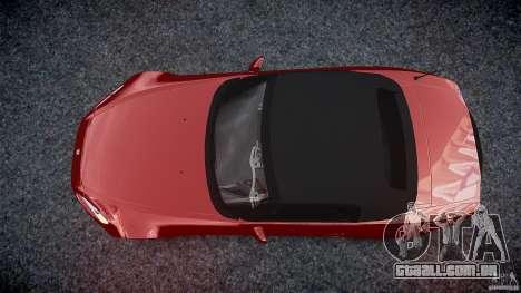 Honda S2000 2002 v2 para recozimento para GTA 4 vista lateral