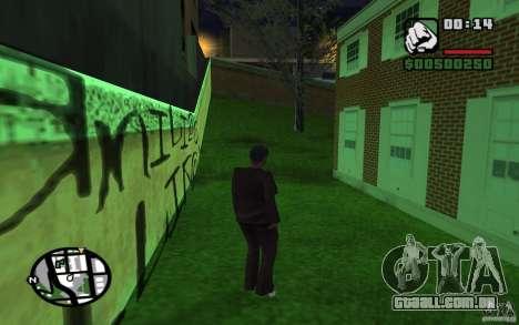 A missão da mãe de CJ para GTA San Andreas por diante tela