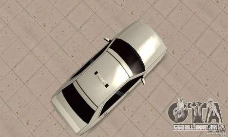 Peugeot 406 TAXI para GTA San Andreas vista direita