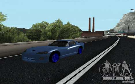 Dodge Viper GTS Monster Energy DRIFT para GTA San Andreas