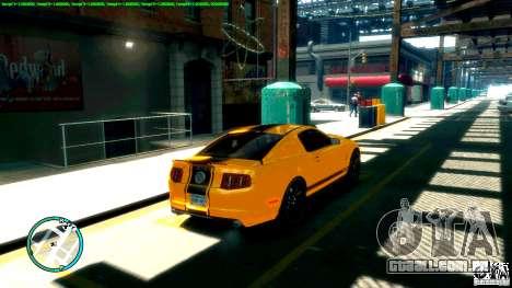Shelby GT500 Super Snake 2011 para GTA 4 esquerda vista