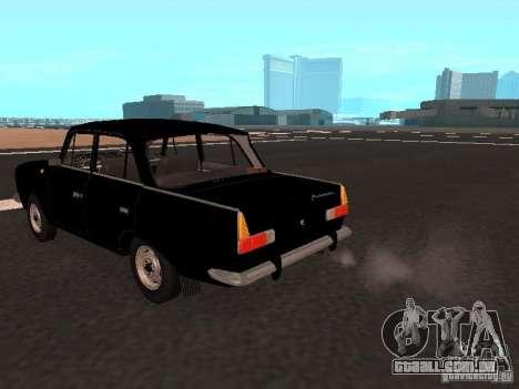Moskvich 412 para GTA San Andreas traseira esquerda vista