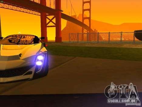 Bertone Mantide para as rodas de GTA San Andreas
