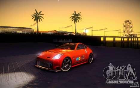 Nissan 350Z Fairlady para as rodas de GTA San Andreas