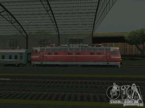 Interruptor rail shooter para GTA San Andreas quinto tela