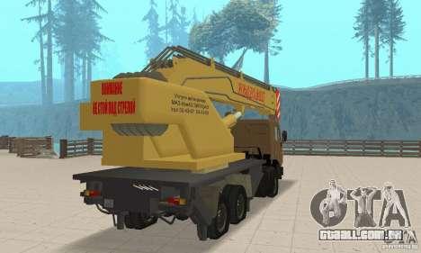 KAMAZ 53213 POLICIAL 4572 para GTA San Andreas