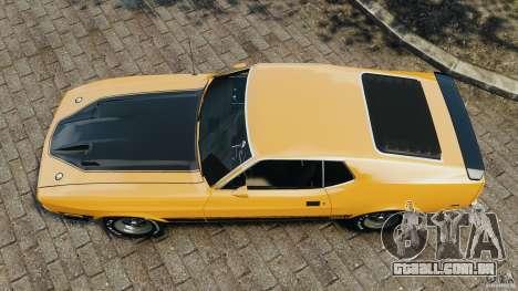 Ford Mustang Mach 1 1973 para GTA 4 vista direita