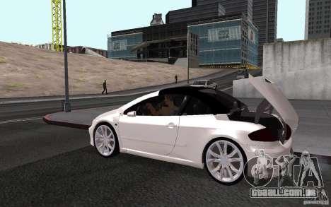 Peugeot 307CC BMS para GTA San Andreas vista direita