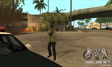 Uma nova polícia para GTA San Andreas quinto tela