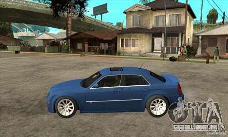 Chrysler 300C SRT 8 2008 para GTA San Andreas esquerda vista