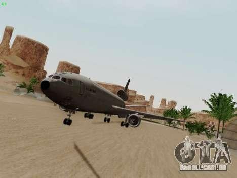 McDonell Douglas KC-10A Extender para GTA San Andreas