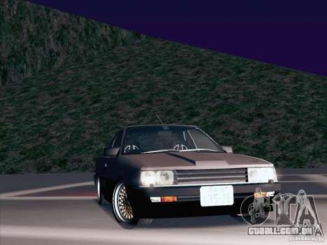 Nissan Skyline RS TURBO (R30) para vista lateral GTA San Andreas