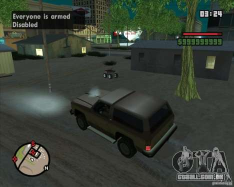 CJ-prefeito para GTA San Andreas