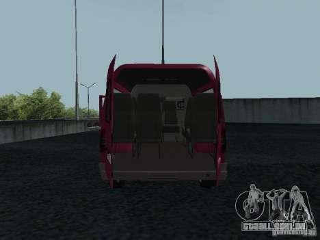 GAZ 2217 Sobol para GTA San Andreas vista traseira