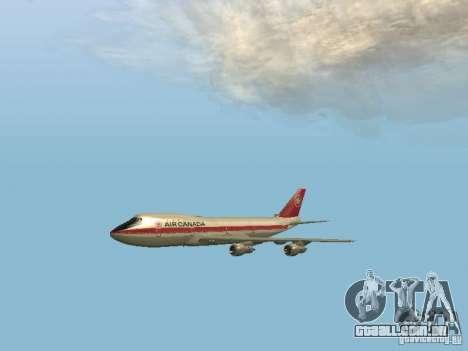 Boeing 747 Air Canada para GTA San Andreas