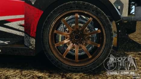 Colin McRae R4 Rallycross para GTA 4 vista de volta