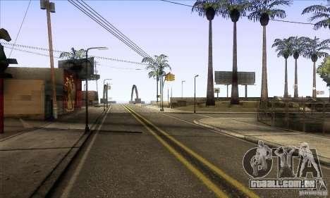 Grove Street Retextured para GTA San Andreas segunda tela