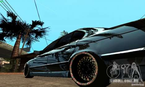 BMW 525 para GTA San Andreas vista direita