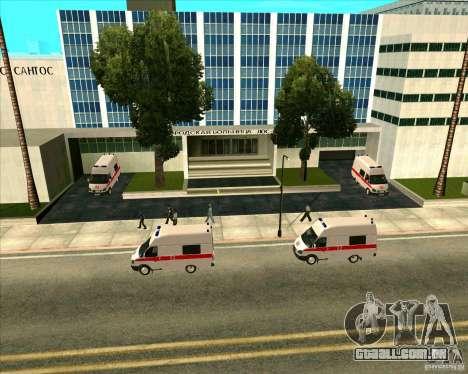 Priparkovanyj transporte v 3,0-de-Final para GTA San Andreas décima primeira imagem de tela