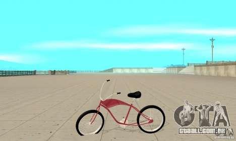 Classic Bike para GTA San Andreas esquerda vista