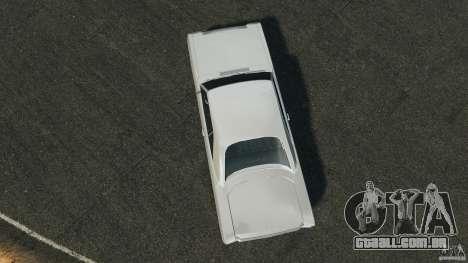 Dodge Dart 1969 [Final] para GTA 4 vista direita