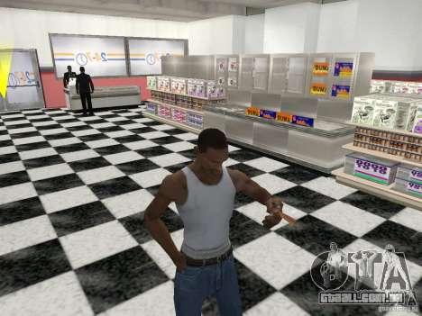A capacidade de fumo para GTA San Andreas por diante tela