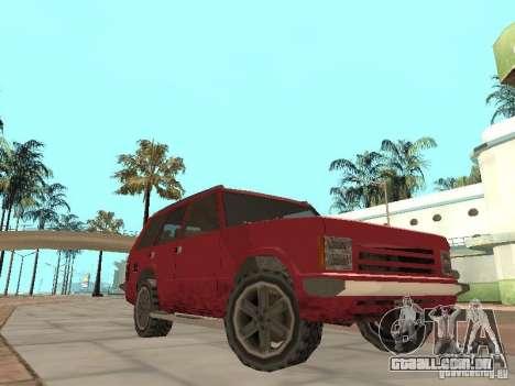 O novo Huntley para GTA San Andreas