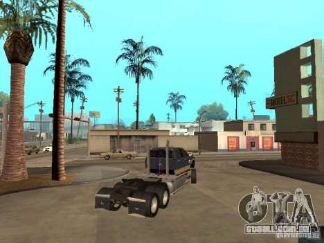 Dodge Ram para GTA San Andreas vista interior